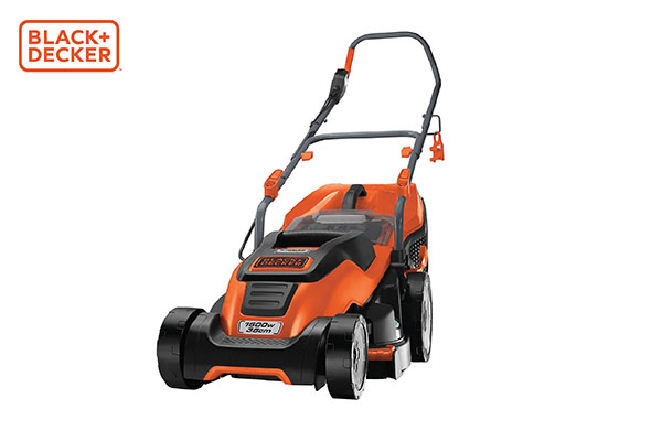 Black & Decker electric lawnmower with compact & go, 1600W