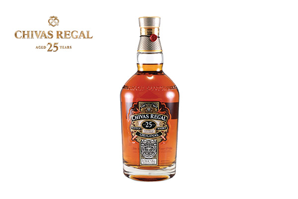 Whisky 25 years old, Chivas Regal, 75 cl
