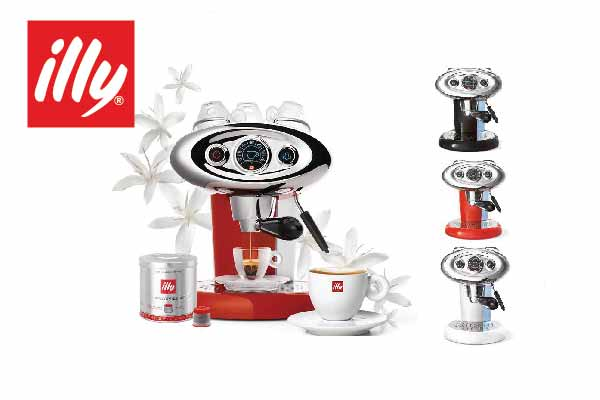 illy coffee machine with 10 coffee capsules X 7.1