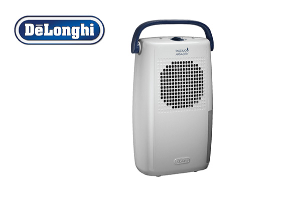 Delonghi dehumidifier for rooms up to 25 m2