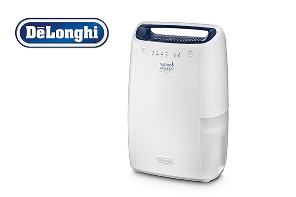 Delonghi dehumidifier for rooms up to 55 m2