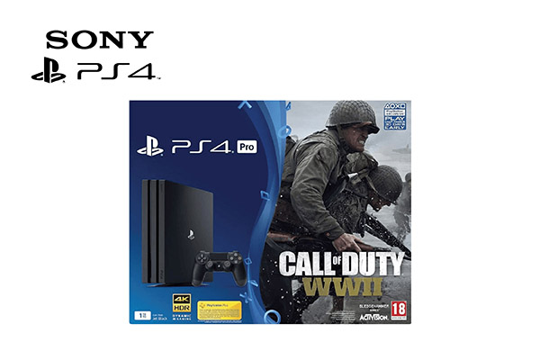 Sony playstation 4 Pro + 1 controller, 1 TB