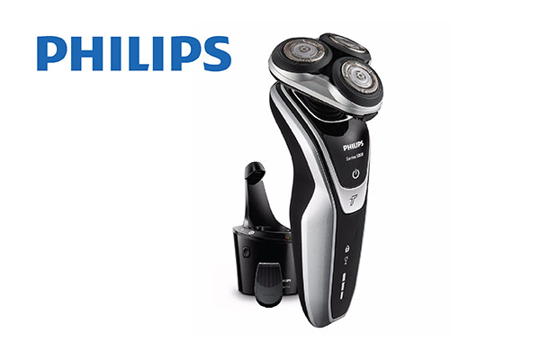 Philips aqua shaver wet & dry, smart clean system