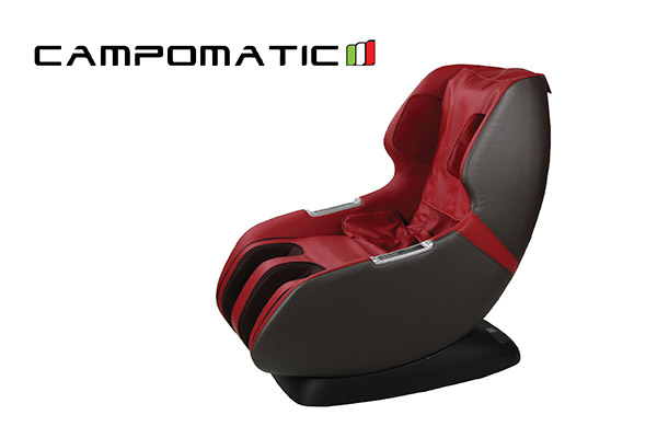 Campomatic leather massage lounger, electronic controller