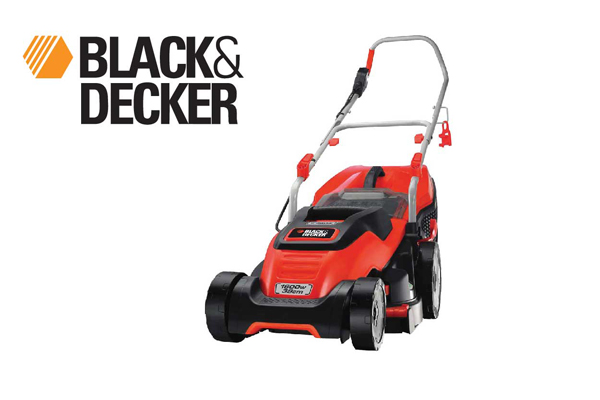 Black & Decker electric lawnmower emax with compact&go