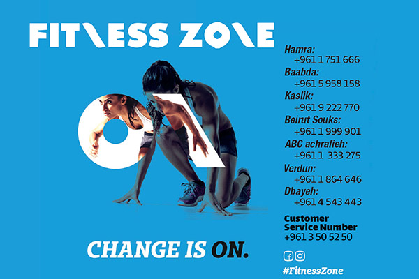Fitness Zone one month subscription & access to all services